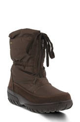 Spring Step Women's Lucerne Waterproof Drawstring Boot Brown