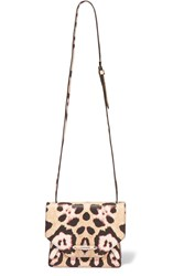 Givenchy Obsedia Shoulder Bag In Leopard Print Textured Leather