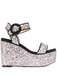 Jimmy Choo Abigail 100Mm Glitter Sandals 60