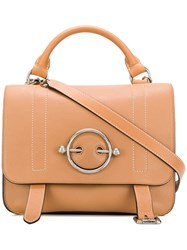 J.W.Anderson Jw Anderson Caramel Disc Satchel Brown