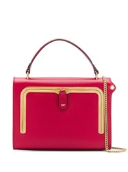 Anya Hindmarch Postbox Tote Bag Red