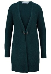 Ivy Revel Cardigan Teal Green Turquoise