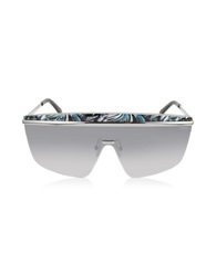 Emilio Pucci Ep0007 Fantasy Metal Shield Sunglasses