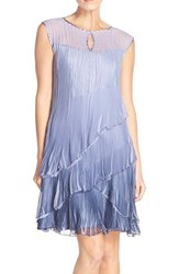 Women's Komarov Ombre Chiffon Shift Dress