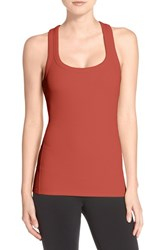 Alo Yoga Women's Alo 'Support' Ribbed Racerback Tank Sunbaked