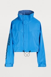 Courreges Oversized Jacket Bleu