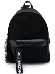 Dsquared2 Punk Backpack Black