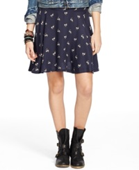Denim And Supply Ralph Lauren Floral Print A Line Mini Skirt