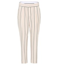 See By Chloe Striped Trousers Neutrals