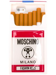 Moschino Fashion Kills Iphone 6 Case White