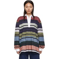 J.W.Anderson Jw Anderson Multicolor Striped Rugby Polo
