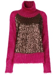 Gianluca Capannolo Alexa Pullover Pink And Purple