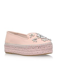 Carvela Kurt Geiger Lolly Platform Espadrille Female Nude