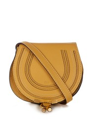 Chloe Marcie Small Leather Cross Body Bag Light Yellow