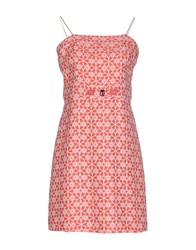 Lunatic Short Dresses Coral