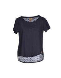 Alviero Martini 1A Classe T Shirts Dark Blue