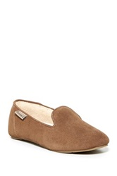 Bearpaw Octavia Genuine Sheepskin Lined Loafer Brown