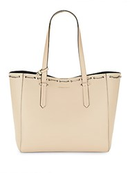 Kendall Kylie Izzy Chain Tote Cream Tan