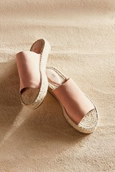 Urban Outfitters Mimi Espadrille Slide Pink