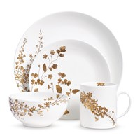 Vera Wang Wedgwood Jardin 4 Piece Dinner Set