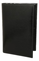 Men's Trafalgar 'Cortina' Passport Case Black