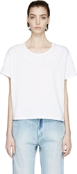 Each X Other White Boxy In Your Arms T Shirt