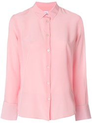 Paul Smith Ps By Long Sleeve Shirt Pink And Purple