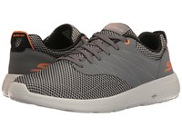 Skechers On The Go City 2 Charcoal Orange Men's Shoes Gray