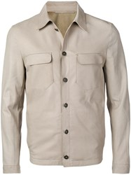Salvatore Santoro Button Up Safari Jacket Grey