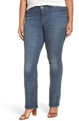Lucky Brand Plus Size Women's 'Emma' Stretch Bootcut Jeans