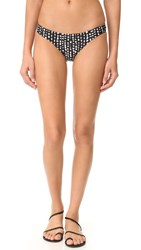 Vix Swimwear Dots Basic Bikini Bottoms Black