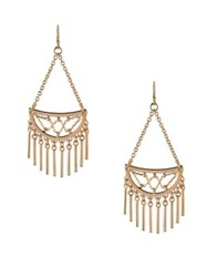 Bcbgeneration In Chains Crystal Dangle And Drop Earrings Gold