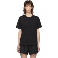 Acne Studios Black Nash Face T Shirt