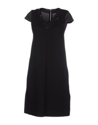 Barbara I Gongini 3 4 Length Dresses Black