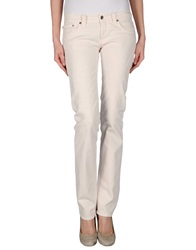 Dondup Denim Pants Ivory