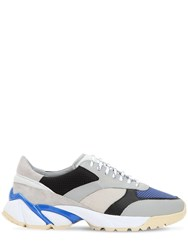 Axel Arigato Tech Runner Leather Sneakers Grey
