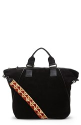 Vince Camuto Rosa Leather Tote Black Noir