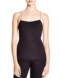 Alexander Wang T By Strappy Cami Tank Black