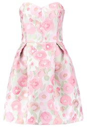 Swing Cocktail Dress Party Dress Silver Rose
