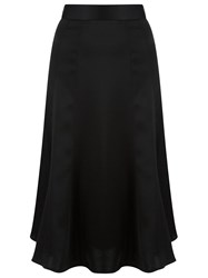 Gloria Coelho High Waisted Skirt Black
