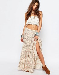 Denim And Supply Ralph Lauren By Floral Maxi Skirt Multi