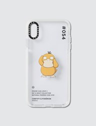 Casetify Psyduck 054 Pokedex Day Iphone Xs Max Case Clear