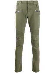 Balmain Ridged Detailed Slim Fit Trousers 60