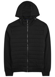 Polo Ralph Lauren Black Quilted Cotton Blend Jacket