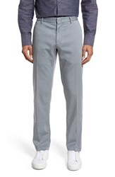 Zachary Prell Men's Aster Straight Fit Pants Grey