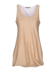 Just For You Topwear Tops Women Beige