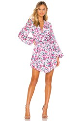 Torn By Ronny Kobo Orzora Dress Pink