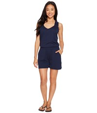 Mountain Khakis Sedona Romper Navy Women's Jumpsuit And Rompers One Piece