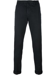 Dondup Slim Fit Chinos Black