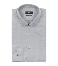 Boss Jenno Check Shirt Grey